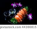 Salmon sashimi 44366815