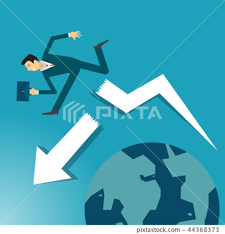businessman is helping hand to success. 44368373