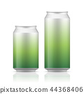 White can vector visual, ideal for beer, lager. 44368406