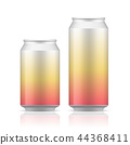 White can vector visual, ideal for beer, lager. 44368411