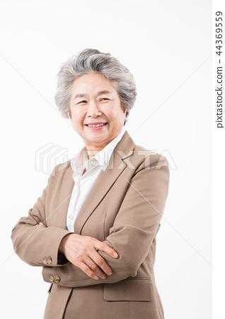 시니어 여성 포트레이트, 여성 CEO 44369559