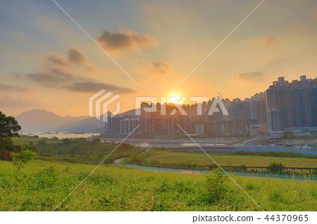 the skyline of Tseung Kwan O South 44370965
