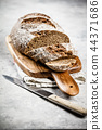 Freshly baked traditional bread 44371686