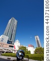 고층 아파트, 풍경, 경치 44371806