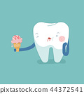 Tooth eat icecream make toothache, dental  44372541