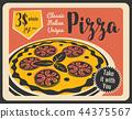 pizza, italian, menu 44375567