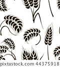 wheat vector icon 44375918