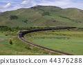 รถไฟบรรทุกสินค้าที่วิ่งในมองโกเลีย 44376288