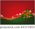 Christmas Background with Christmas Holly 44377803