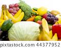 신선한 야채와 과일 44377952