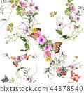 ดอกไม้,แบบ,โรงงาน 44378540