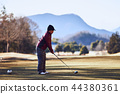 골프, 중년, 미들 44380361