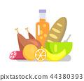 product, fruit, icon 44380393