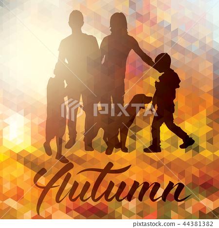 Vector Happy Family 44381382