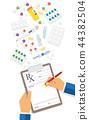 prescription pad doctor 44382504