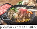 壽喜燒與日本牛肉美味壽喜燒日本料理 44384872