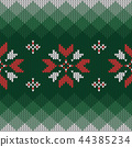 Christmas knitted pattern.  44385234