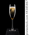 champagne, glass, alcohol 44385667