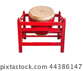 Drum tells the time in ancient times, 44386147