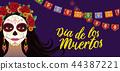 vector, celebration, mexico 44387221