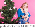christmas, mother, kid 44388218