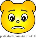 熊 黄色 44389418