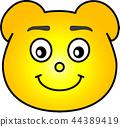熊 黄色 44389419