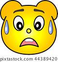 熊 黄色 冷汗 44389420