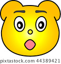 熊 黄色 44389421