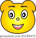 熊 黄色 44389475