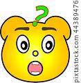 熊 黄色 让我想想 44389476