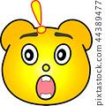 熊 黄色 44389477