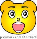 熊 黄色 44389478