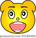 熊 黄色 44389480