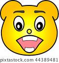 熊 黄色 44389481