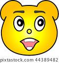 熊 黄色 44389482
