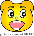 熊 黄色 44389483