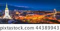 Bratislava Cityscape at Night 44389943