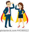 Super Powerful Business Team 44390022