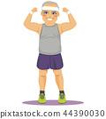 fat, old, man 44390030