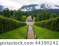 linderhof palace garden steps 44390242