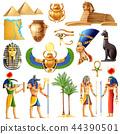 Egypt Symbols Set 44390501