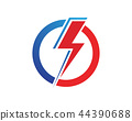 Vector lightning icon logo and symbols template 44390688