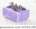 flower soap lavender 44392108