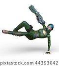 군인 여성 44393042