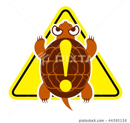 蛇草龜的例證 44395138