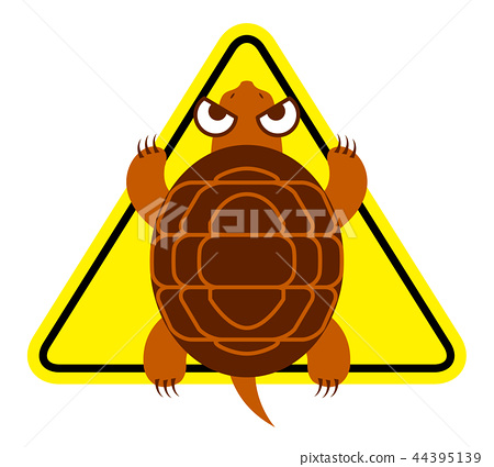 Illustration of a snake tortoise 44395139
