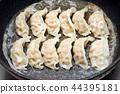 饺子 煎锅贴 食物 44395181