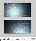 Vector abstract geometric design banner web template. 44396251