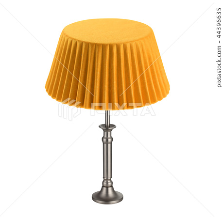 table lamp isolated on white 44396635